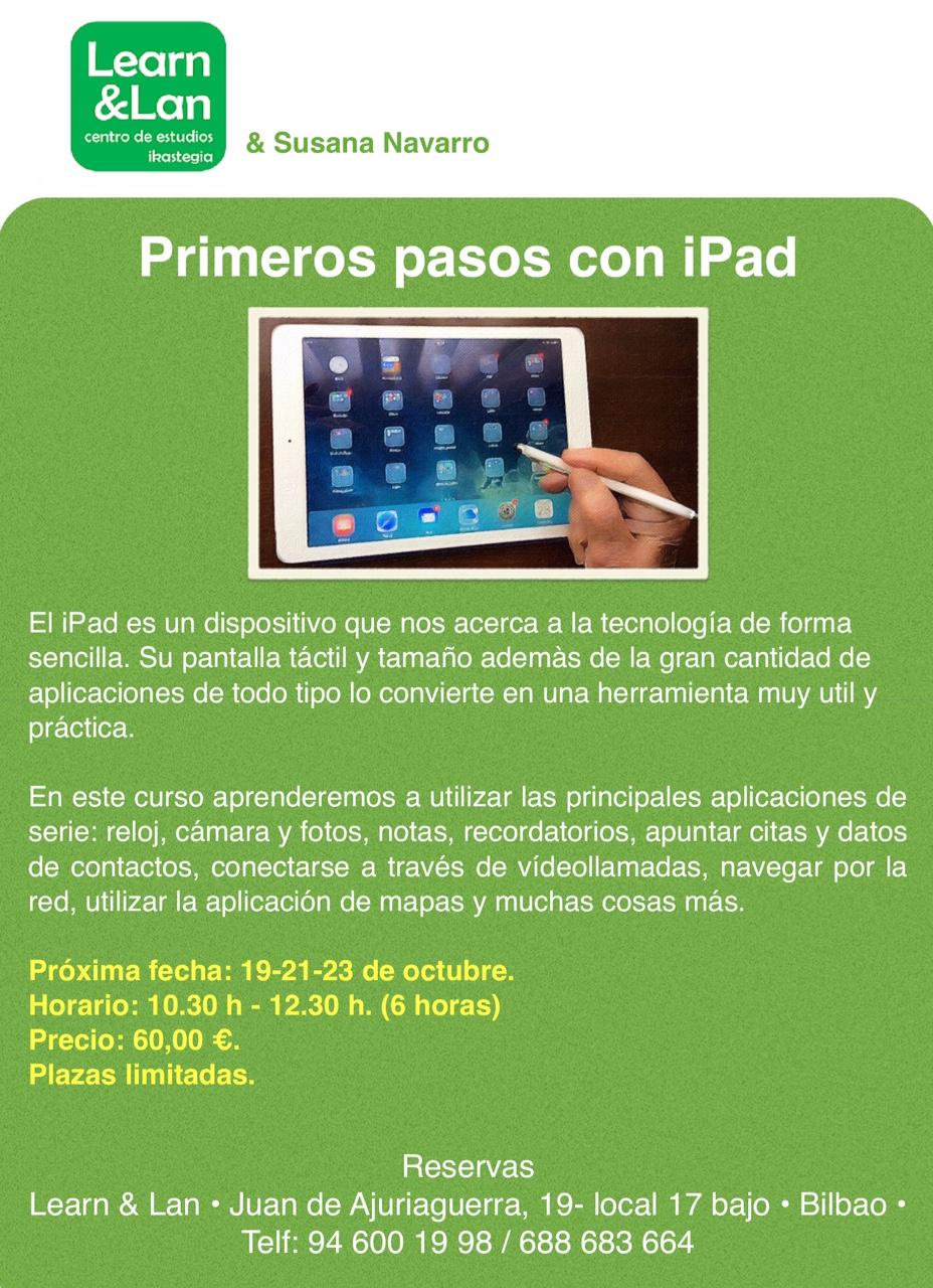 Primeros pasos con iPad