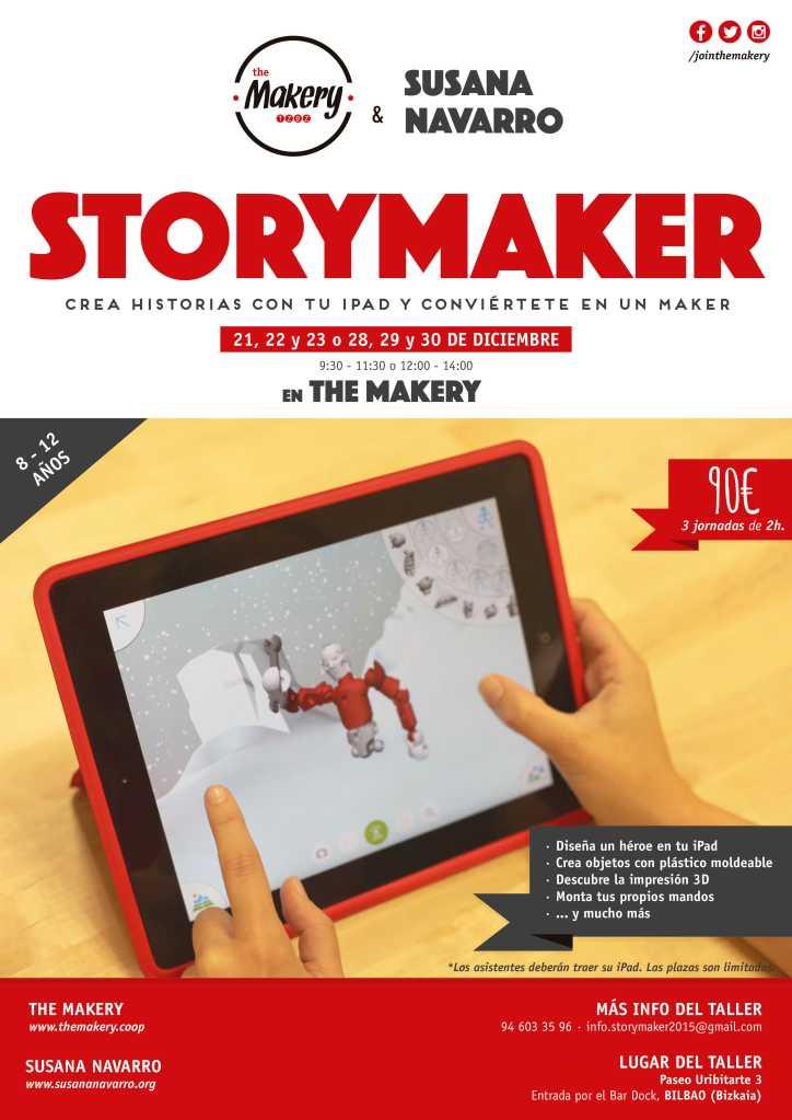 Taller de Navidad Storymaker iPad b