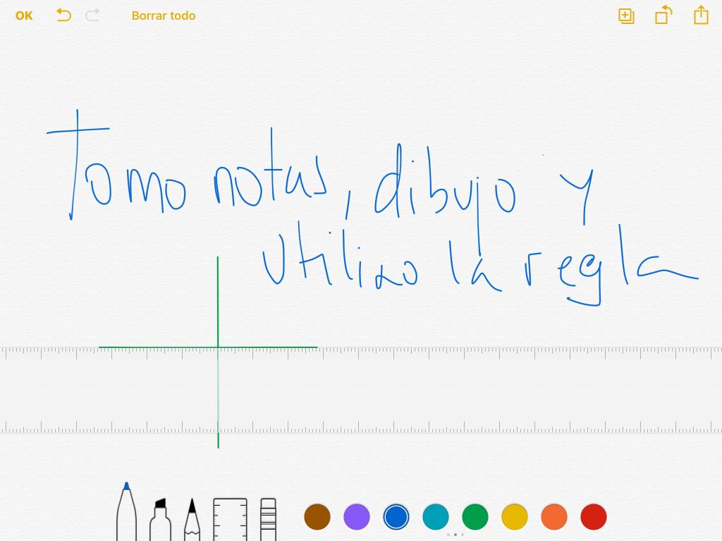 Notas IOS 9 dibujar